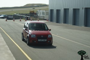 Panda100 in pit lane at Angelsey - Copyright Oak Photo 2014 - Not to be reused without permission. Please contact us