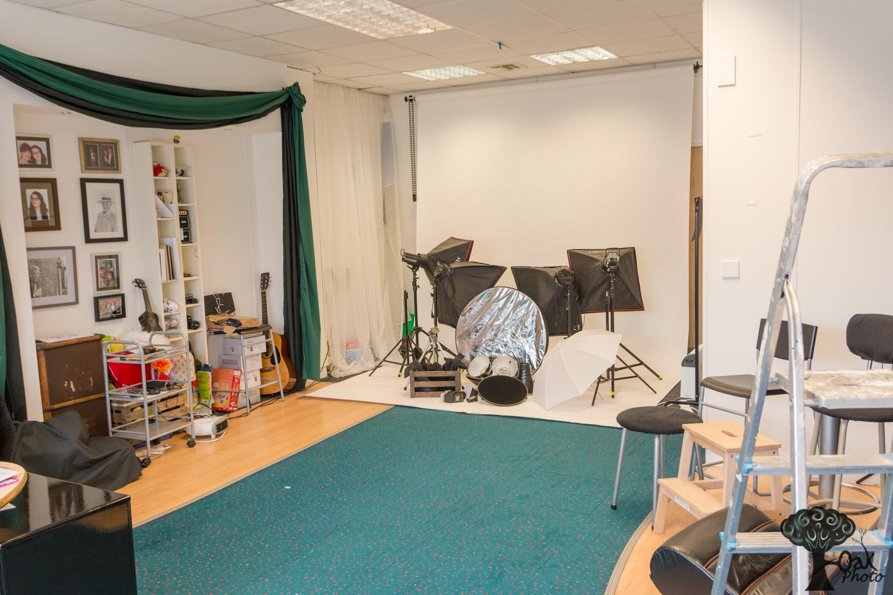 Oak Photo Studio Hire North East