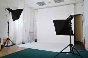 The Oak Photo Studio, Horden, Affordable Studio Hire, North East